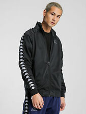 Kappa Men's Anniston Slim Banda Track Jacket Black Medium