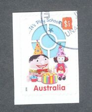 Australia- Play School single value self-adhesive fine used cto 2016