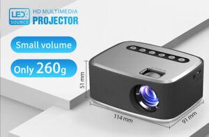T20 HD Mini Beamer, Mini tragbarer HD Projektor, Mini Beamer