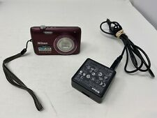 Nikon COOLPIX S4100 14.0MP Camera - Plum w/Charger