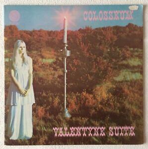 COLOSSEUM ~ VALENTYNE SUITE ~ 1969 UK VINYL LP RECORD + G/FOLD ~ VERTIGO VO 1