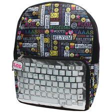 NEW Emojination Keyboard Backpack School Bag Emoji
