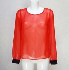 George Polyester Long Sleeve Tops & Shirts for Women