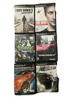 PlayStation 2 PS2 Games Lot 6 Games Tony Hawk  Need For Speed Ridge Racer
