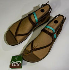 Chaco Womens 7 Loveland sandals brown heather opal