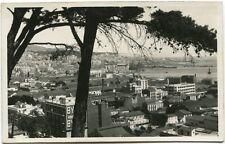 Primi '900 Alger Hamma Via generale panorama città palazzi FP B/N