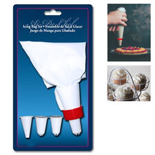 Cake Decorating Kit Icing Bag Set 5 Tips Pastry Baking Tool Paste Food Piping