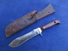 VINTAGE 1968 ORIGINAL PUMA WHITE HUNTER KNIFE AND SHEATH