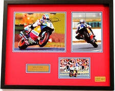 New Mick Doohan Signed Limited Edition Memorabilia Framed