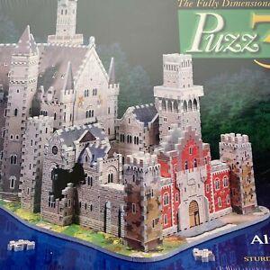 Milton Bradley Puzz 3D Wrebbit Alpine Castle 1000 Pieces Puzzle NEW