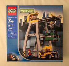 LEGO set 4514 World City Cargo Crane. BRAND NEW. RARE ITEM.
