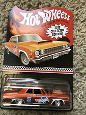 2019 HOT WHEELS~Kroger Mail In Collector '64 Dodge 330~FREE SHIPPING in the US!