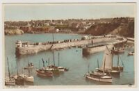 Cornwall postcard - The Harbour, Newquay (A1379)