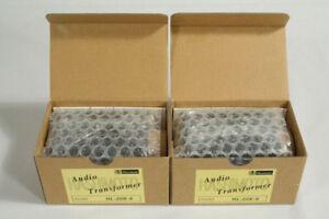 A Pair of Hashimoto Line Input/Output Transformers HL-20K-6 20K : 150/600 Ohms
