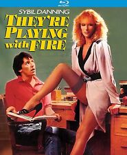 THEY'RE PLAYING WITH FIRE (1984) - BLU RAY - Region A - Sealed