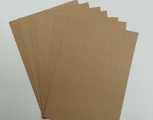A4 BROWN KRAFT PAPER / CARD 100 % RECYCLED ECO FRIENDLY – CRAFT
