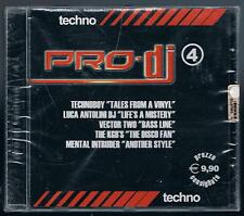 PRO DJ TECHNO vol. 4 CD F.C. SIGILLATO!!!