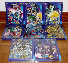 SAINT SEIYA THE CABALLEROS ZODIAC COLLECTION BOX 1 TO THE BOX 8 NEW 30 BLU-RAY