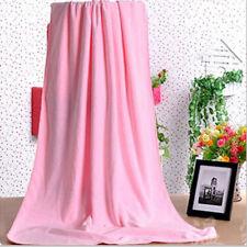 Serviettes, draps et gants de salle de bain moderne, contemporain roses