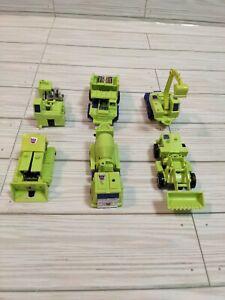 Lot of 6x Generation 1 Constructicons