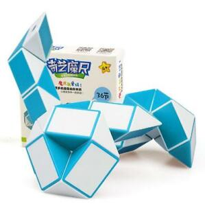 QIYI 36 Sections magic snake variety magic ruler cube Puzzle cube for Children