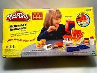 Hasbro Playdoh McDonalds Restaurant Playset 2003 Toy Incomplete Set
