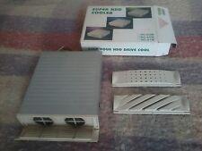 """HDD cooler 5.25"""", 2 ventole raffreddamento hard disk 3.5"""", cassetto 3 frontalini"""