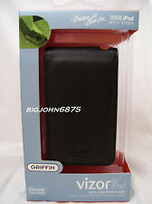 GRIFFIN Vizor Leather case BLack for iPod video Classic 80gb 30GB NO Package