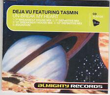 MAXI CD 5T DEJA VU feat TASMIN UN-BREAK MY HEART 1996 CD ALMY98 TBE