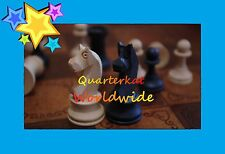 VINTAGE CHESS SETS BOARDS PIECES MEN STAUNTON STYLE DOUBLE SIDED WOOD BOX