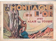 Collection VICTOIRE n°18. Alain La Foudre - 1939