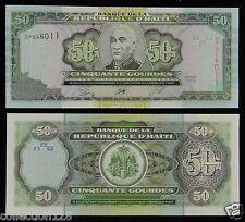 Haiti Paper Money 50 Gourdes 2003 UNC