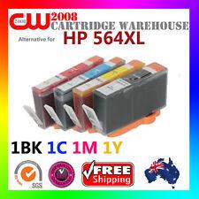 4X HP 564XL Ink Cartridge for HP Photosmart  B210d B210e B8550 Printer 1BK1C1M1Y