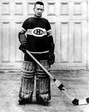 Montreal Canadiens GEORGES VEZINA Glossy 8x10 Photo Hockey Goalie Print Poster