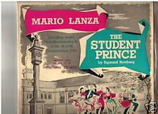 The Student Prince -1954 Mario Lanza-Original Soundtrack-Record  LP