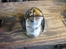 Antique Bow Iight Chris Craft Nickel Plated and Rewired. Boat yacht light