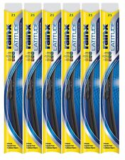 "Rain-X Latitude 8 In 1 21"" Windshield Wiper Blade Pack of 6"