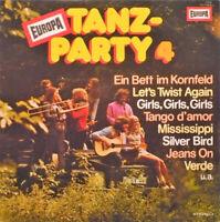 Orchester Rudi Bohn* Europa Tanzparty 4 LP Vinyl Schallplatte 185333