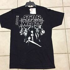 Star Wars The Force Awakens Kyle Ren Stormtroopers Black T Shirt Size M  NWT