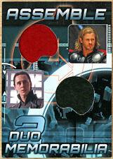 2012 Upper Deck Avengers Assemble Costume Card AD-7 - Loki Thor