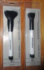 2 Sonia Kashuk Makeup Brushes No.115 Large & 124 Small Duo-Fiber Multipurpose