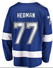 B102 para hombre M NHL Tampa BAY LIGHTNING HOME JERSEY disidente Hedman #77