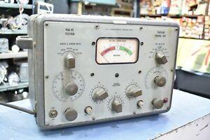 Taylor model 45C Vintage tube valve teste made England
