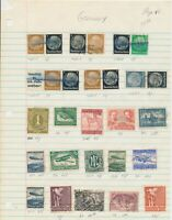 GERMANY: 190 MOSTLY WAR-TIME STAMPS, OFFICIAL, AIR-POST, BERLIN. With Scott #64