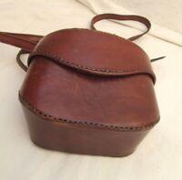 Original sac à main cuir vintage bag à saisir