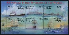 Maldives 2539 MNH Ship Wrecks, Dolphin
