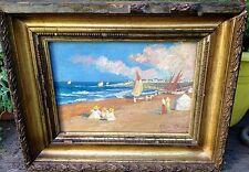 Gorgeous, Ricardo LOPEZ CABRERA (1864-1950) Spanish Painter - Oil on board - Pla