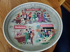 New listing Vintage Knickerbocker 12 Inch Beer Tray