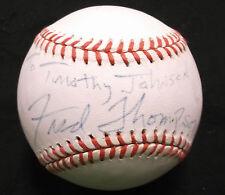 Seantor Fred Thompson Autographed signed Baseball JSA  Congressman