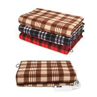 110V Electric Heated Cotton Cosy Warm Winter Heating Blanket Pad + Controller